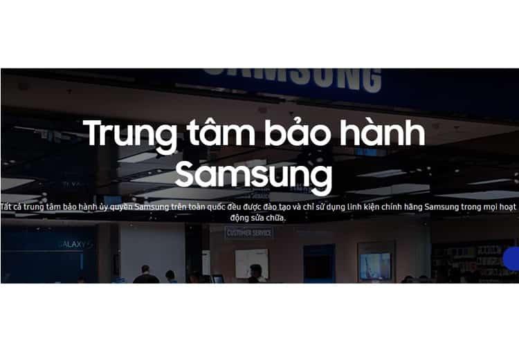 Thông tin bảo hành tivi samsung 1