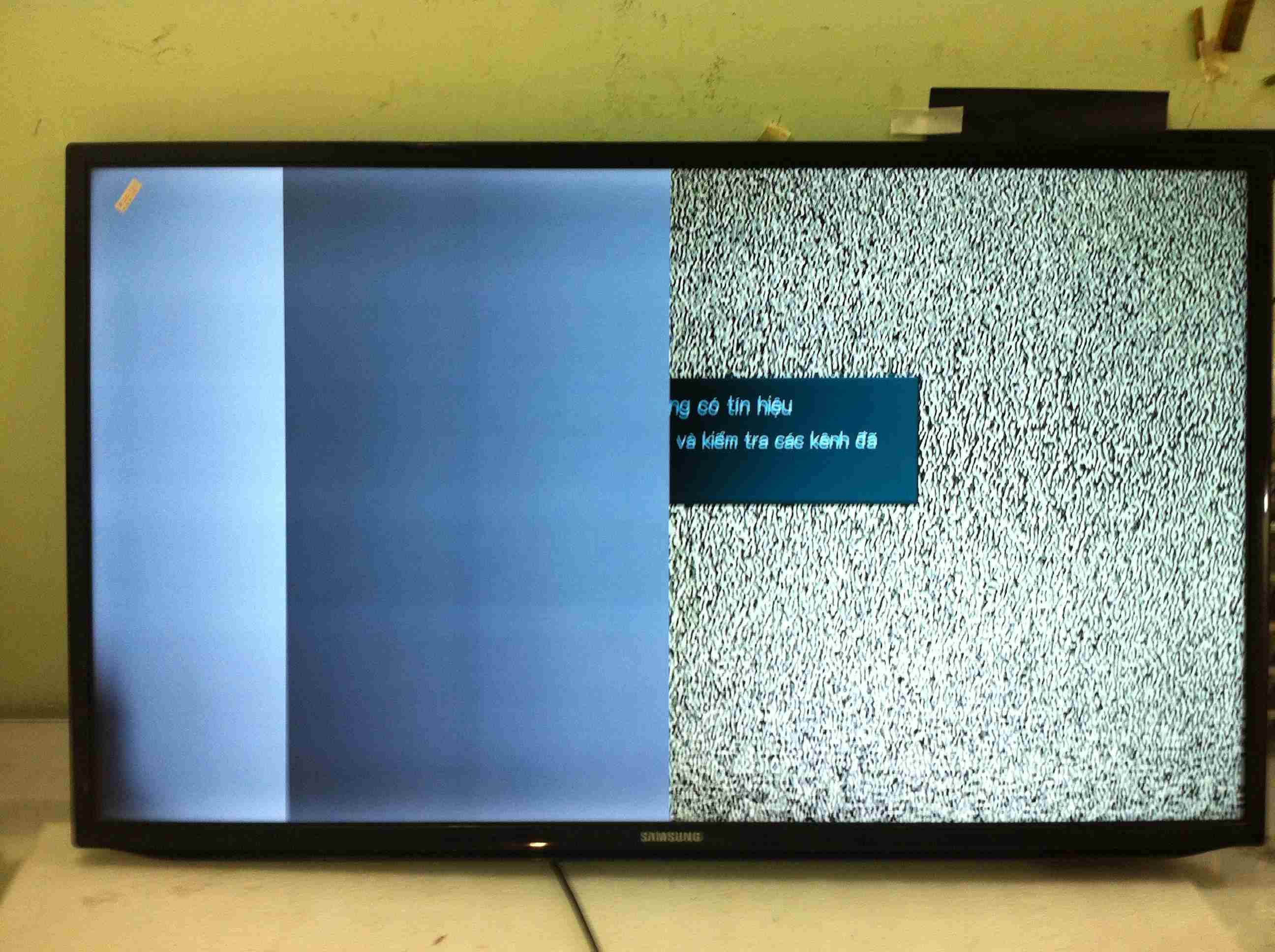Màn hình tivi sony bị hỏng tại hải phòng