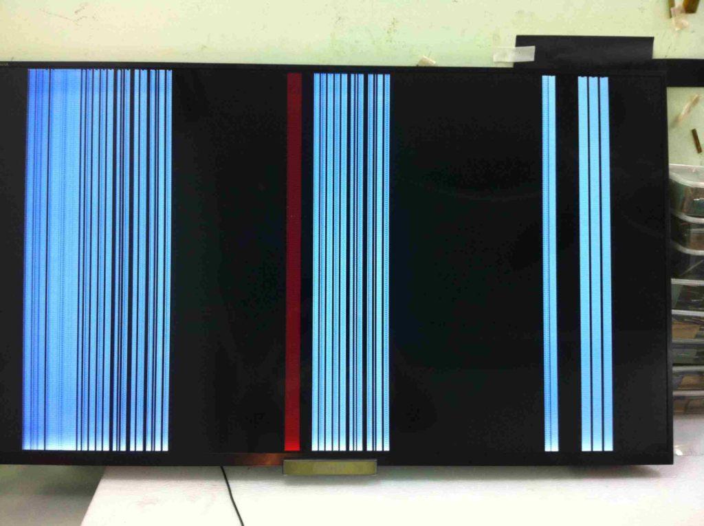 tivi sony hỏng màn hình