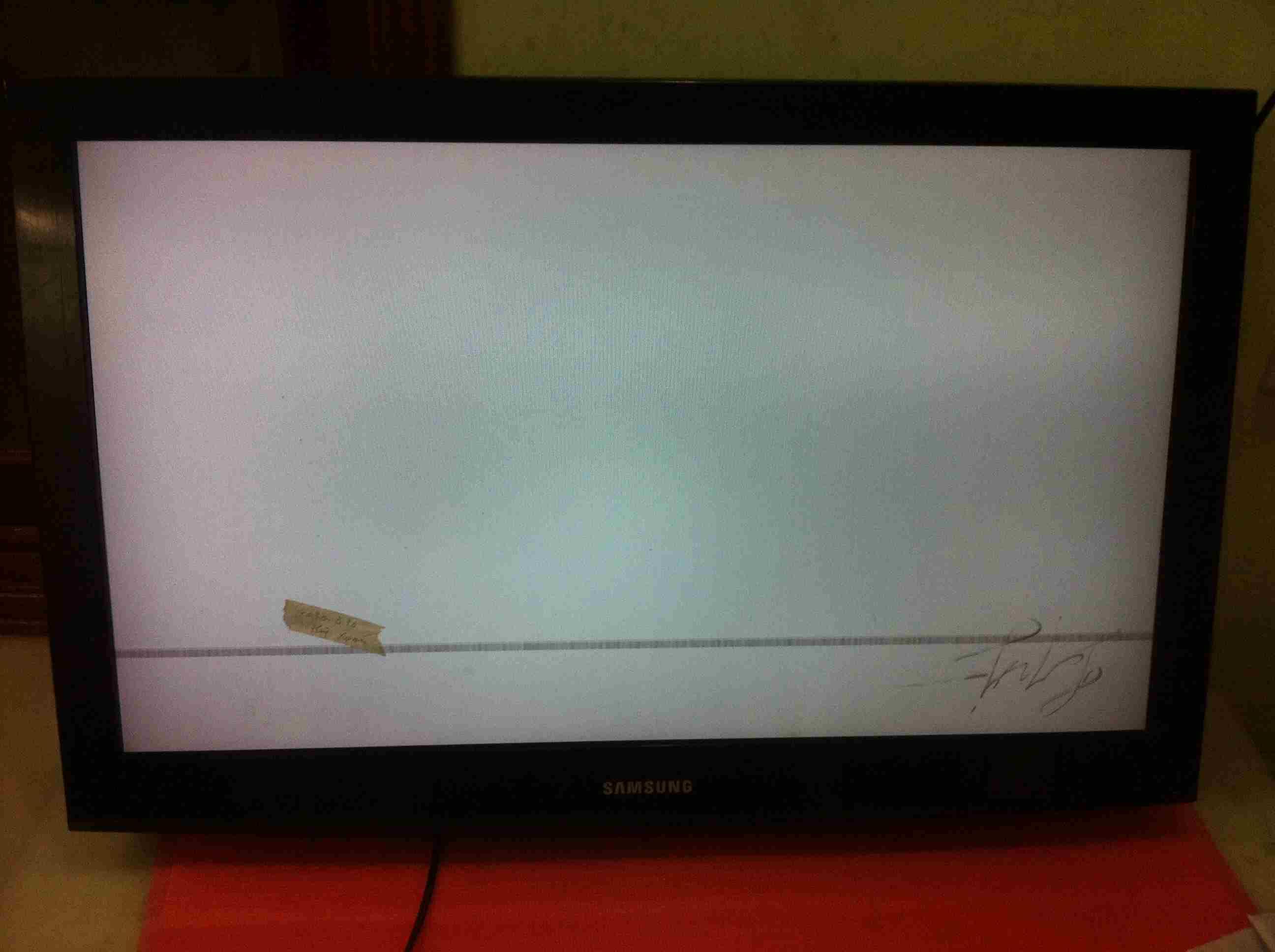 tivi samsung bị hỏng màn hình