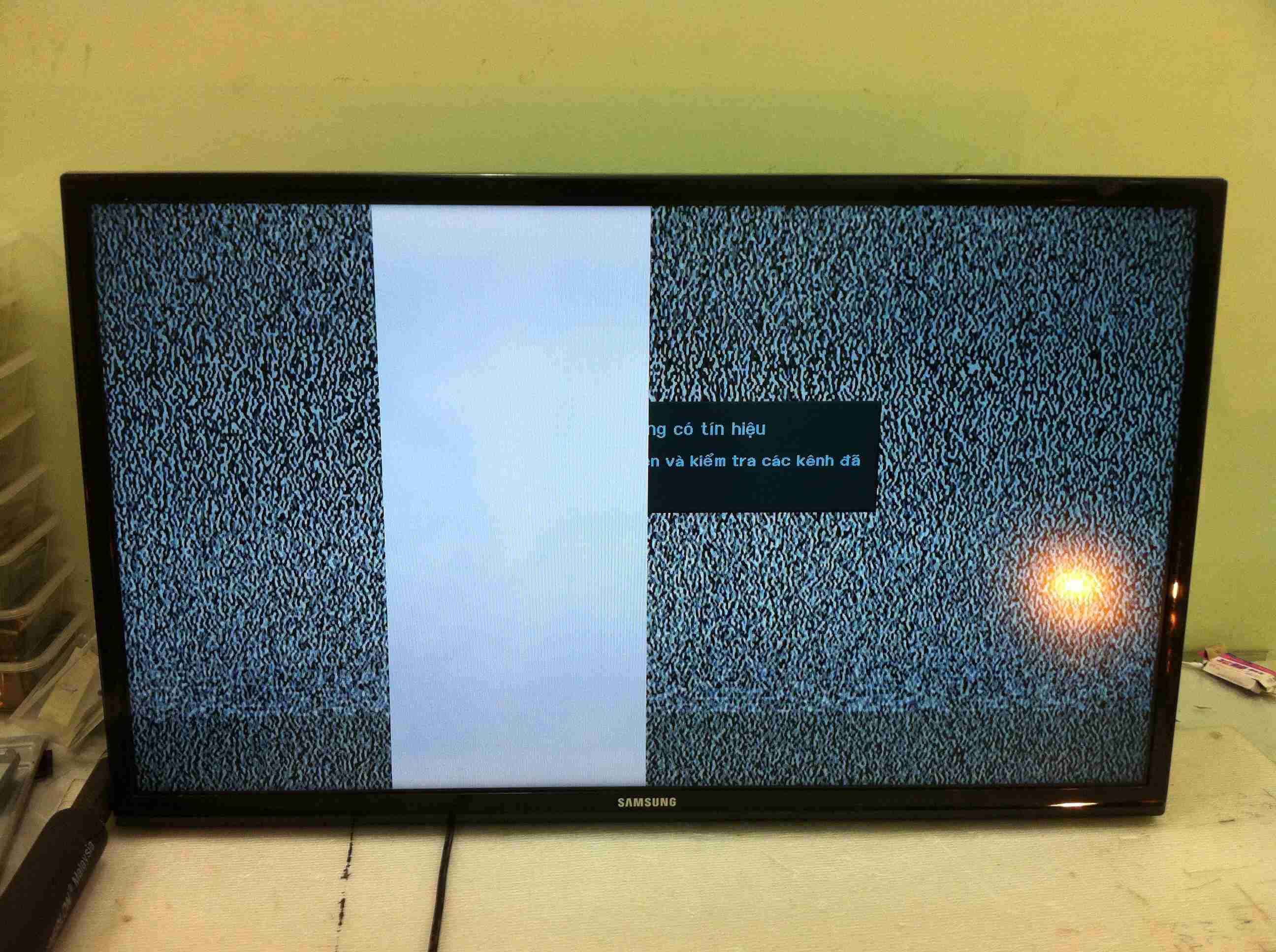 sửa tivi sony bị hỏng màn hình tại hải phòng