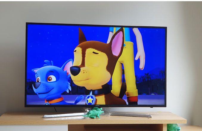 Thay màn hình TV samsung UA55NU7300k 8