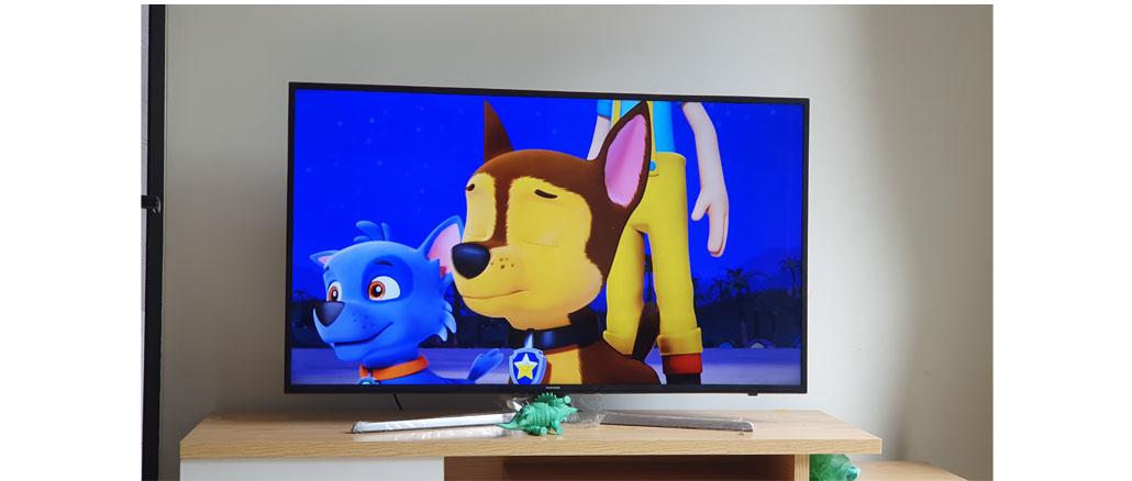 Thay màn hình TV samsung UA55NU7300k 4